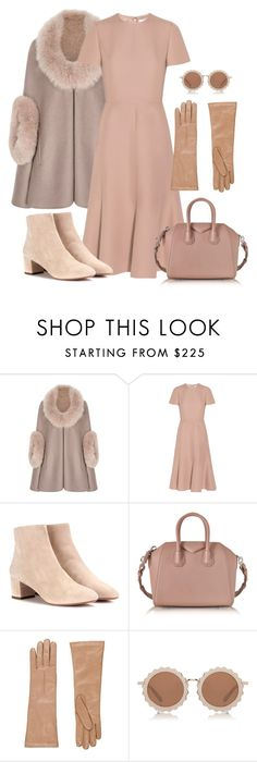 """Untitled #2548"" by applelula ❤ liked on Polyvore featuring Valentino, Aquazzura, Givenchy, Barneys New York and House of Holland"