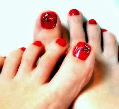 Wedding Toe Nail Art Designs & Ideas 2014 | Fabulous Nail Art ...