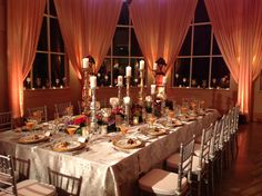The Gardens Cafe by Kathy G. is the perfect setting for a Gorgeous Rehearsal Dinner!