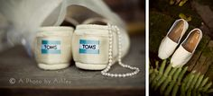 @TOMS  Shoes Wedding Shoes - A Photo by Ashley {Ashley Turner} Vintage Rustic Wedding | Winston-Salem, North Carolina Wedding Photographer | One Way Antiques, King NC
