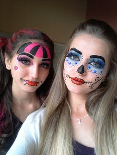 Pintura facial Monster high