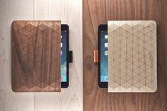 Beautiful Wood Sleeves For iPad & MacBook By Grovemade