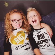 Big Sister Again Shirt Big Sis Shirt Sister to be Sibling Shirt Baby Announcement Shirt Pregnancy Announcement Gold Glitter Shirt Kids Shirt by BabySmilesBoutique on Etsy https://www.etsy.com/listing/265288717/big-sister-again-shirt-big-sis-shirt
