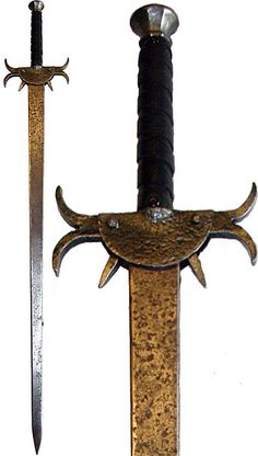 Broadsword-This style sword was commonly known for their versatility in battle. Scottish