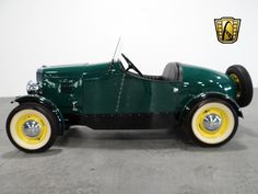 For sale in our Atlanta, Georgia showroom is a Green 1937 Austin American Boattail Speedster 750 cc Manual . Click for more details.