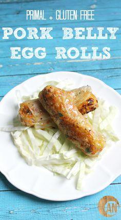 Pork Belly Egg Rolls