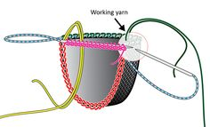 Double Heelix sock: Knitty Spring+Summer 2011 Free Knitting, Knitting Socks, Knitting Patterns, Crochet Patterns, Crochet Socks, Knitted Slippers, Judys Magic Cast On, Magic Loop, Crochet Chain
