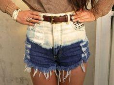 High waist shorts<3