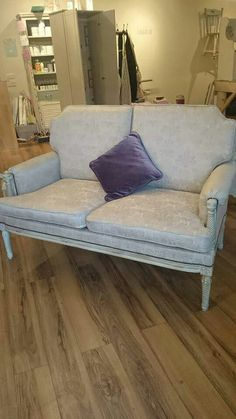 Two seater sofa finished Sofa, Couch, Love Seat, It Is Finished, House Design, Furniture, Collection, Home Decor, Homemade Home Decor