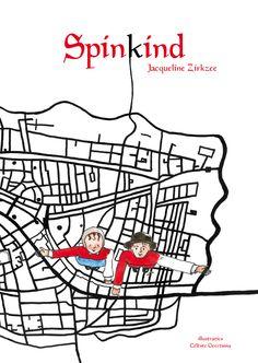 Spinkind (jeugdboek) van auteur Jacqueline Zirkzee, geschreven in opdracht van de stichting Beeld voor beeld