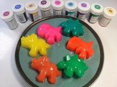 How To Make Cute Dinosaur Jelly Pudding 귀여운 공룡 젤리 푸딩 만들기 놀이 장난감 식완
