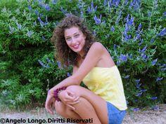 Foto con Gaia Prelorenzo scattata nel periodo estivo presso il Parco del Cillarese
