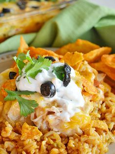 Doritos Recipes: Cheesy Chicken Doritos Casserole
