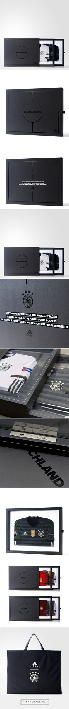 adidas Eurocup Collectors Kit on Packaging of the World - Creative Package Design Gallery. - a grouped images picture Usb Packaging, Box Invitations, Design Blog, Adidas, Kit, Packaging Design Inspiration, Presentation, Package Design, World