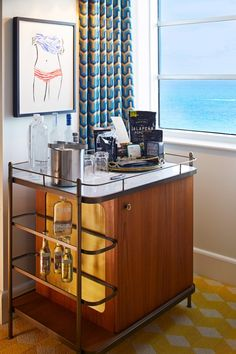 All accommodations offer a gourmet minibar. #Jetsetter Thompson Miami Beach