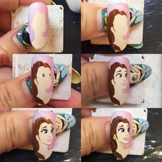 Best Nail Art Decorations To Choose Nail Art Modele, Nail Art Dessin, Butterfly Nail Designs, Crazy Nail Designs, Disney Acrylic Nails, Acrylic Nail Art, Nail Art For Kids, Cool Nail Art, Diy Nails