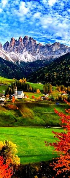 Church of Santa Maddalena, Trentino Alto, Italy