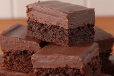 Bake brownies according to brownie mix package instructions, add Baileys Irish Cream and enjoy boozy brownies.
