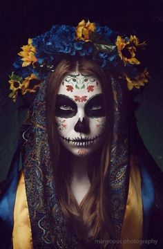 Top Best Sugar Skull Makeup Wallpaper For Mobile Phone Mexican Skulls, Mexican Art, Skull Makeup Tutorial, Sugar Skull Artwork, Day Of The Dead Artwork, Catrina Tattoo, Candy Skulls, Sugar Skulls, Makeup Wallpapers