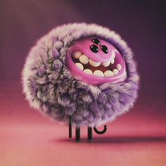 Creative Draw A Monster Ideas. Exacting Draw A Monster Ideas. Cartoon Monsters, Cute Monsters, Little Monsters, Cute Monster Illustration, Illustration Art, Monster Art, Art Jouet, Art Mignon, Modelos 3d