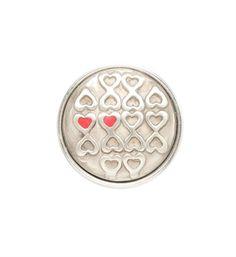 Noosa Amsterdam chunk Ametié. Ametié is het magische symbool voor vriendschap. De twee harten naast elkaar symboliseren de verbondenheid van twee zielen - NummerZestien.eu