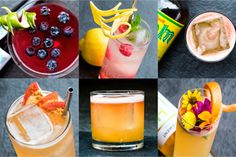 9 refreshing cocktails made with shrubs. They're the perfect way to cool down this summer.