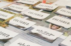 Ink Dipped Handmade Business Cards: The Art Abyss: 25 DIY Business Card Ideas Just For You