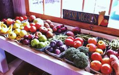 Buy fresh vegetables at The Rock Ranch in The Rock, #Georgia!