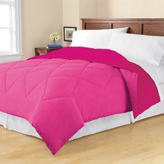 Mainstays Twin/Twin XL Reversible Microfiber Bedding Comforter