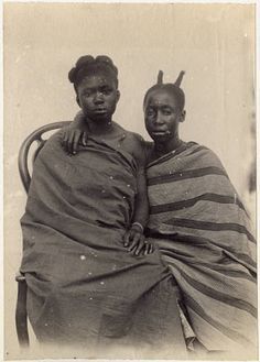 Negro types from Akem and Akuapem Gold Coast. History Of Ghana, African History, African Art, Black Girl Art, Black Lady, African Royalty, University Of Southern California, Black History Facts, African Beauty