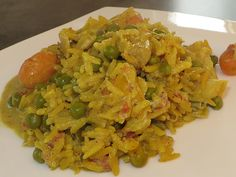 Reis mit Curry-Gemüse-Soße