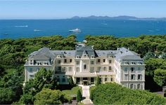 Hotel du Cap Eden Roc in Antibes, France. unbelievable gardens in the back. You could get lost!