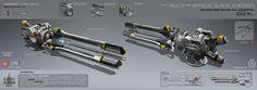 Multi-particle wave cannon by KaranaK on DeviantArt