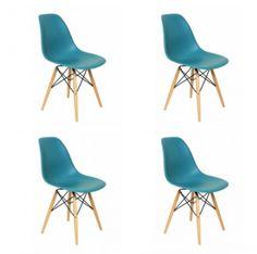 Cadeiras pra ir junto com a mesa redonda branca.