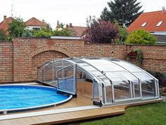 This is lower version of our pool enclosure VENEZIA.