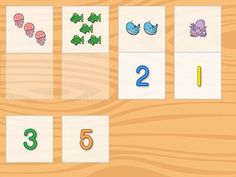 ...Your kid will have the opportunity to demonstrate her number knowledge with this colorful <strong>matching</strong> game. First she'll determine how many objects are in each box...