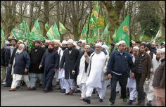 25,000 Muslims March in England Calling for Laws to Silence Critics of Islam   --  We're in the Twilight Zone...