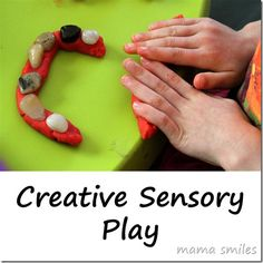 Creative sensory play  that will entertain older kids as well as toddlers!
