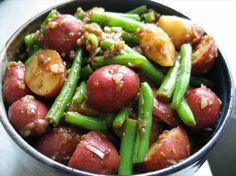 Potato and Green Bean Salad With Balsamic Vinaigrette