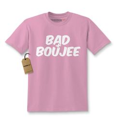 Bad And Boujee Kids T-shirt