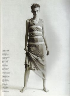 Stella Tennant | Photography by Paolo Roversi | For Vogue Magazine France | February 1994