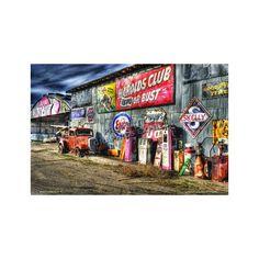 Pinup, Texaco, Club, Style, Swag, Wall Drawing