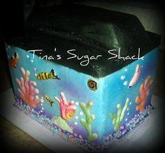 aquarium cake ideas - Google Search