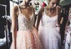sania claus demina backstage ida sjostedt ss16 floral dress blommig klanning ss16 stockholm fashion week_12