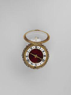 Relógio relojoeiro: Nicolas Bernard (trabalho 1560 – 90) Data: século XVI cultura: médio francês (Paris): ouro, esmalte