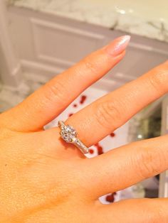 Thank you @77Diamonds for the most beautiful ring x