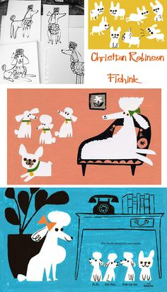 Fishinkblog 7955 Christian Robinson 10 Check out my blog ramblings and arty chat here www.fishinkblog.w... and my stationery here www.fishink.co.uk , illustration here www.fishink.etsy.com and here carbonmade.com/.... Happy Pinning ! :)