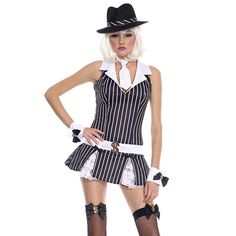 Machine gun molly adult costume # http://gangsterhalloweencostumes.net/machine-gun-molly-halloween-costume