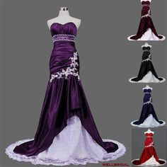 This dress is only $152...if you want a purple wedding dress, that's handmade, its perfect!!!--If i were skinny enough fr this to look good, I'd be all over it...not getting married anytime soon, so still have time...LOVE it