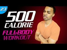 35 Min. You Better WORK IT Workout | 500 Calorie HIIT MAX Day 23 - YouTube